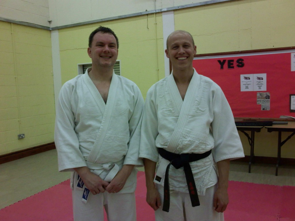 Neil and Sensei Neville